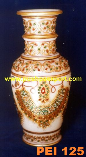 Gold Work Flower Vase