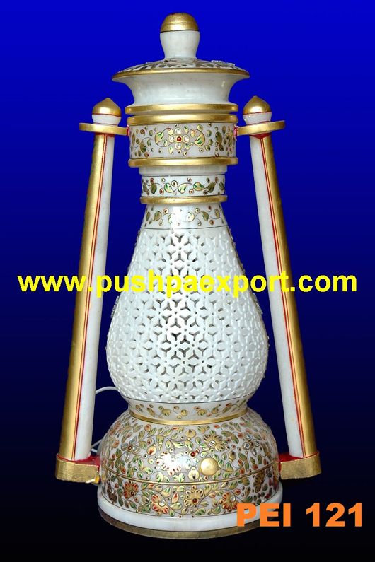 Gold Work Lamp Lantern