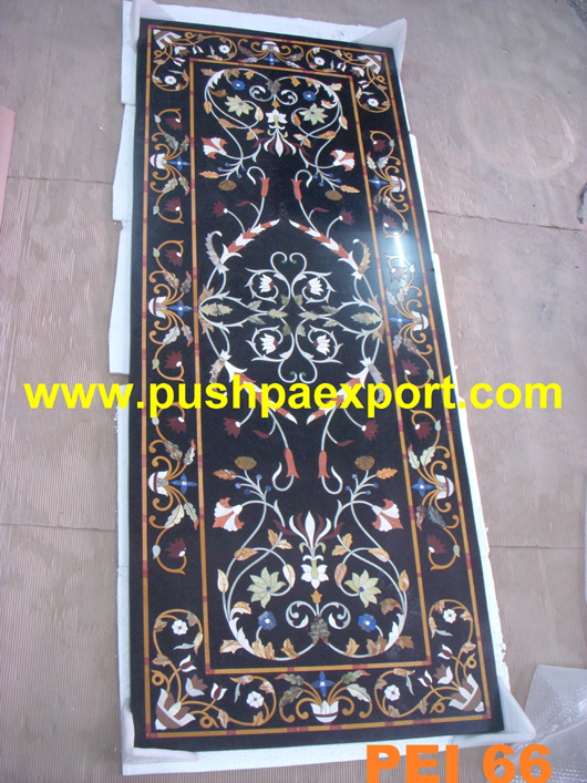 Stone Inlay Flooring