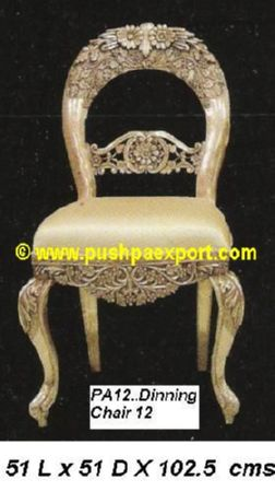 Silver Dinning Chair