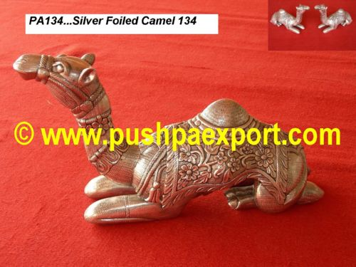 Silver Foiled Camel (Set 2pc)