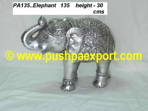 Silver Elephant Pair (Set of 2 Piece)