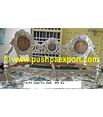 Silver Sofa with Doll Legs (Set of 3pc)(Set of One pc 3 Seater & Two Single Chairs)