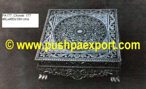 Silver Chowki (Low Table)