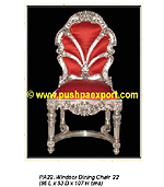 Silver Windsor Dinning Chair