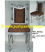 Silver Sterling Dining Chair