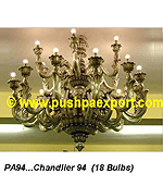 Silver Chandlier (18 Bulbs)