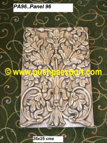 Silver Wall Panel