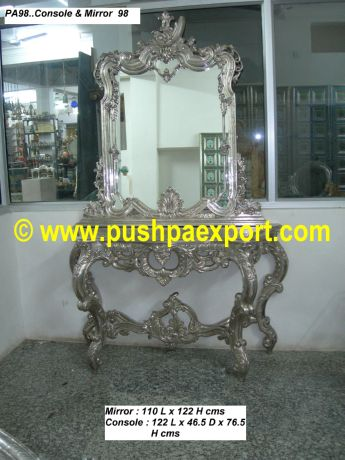 Silver Frame & Console